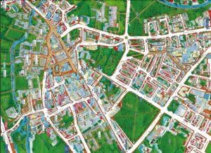 Cityscapes Street Map Of Cambridge 400 Piece Jigsaw Puzzle 470mm x 320mm (hpy)